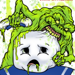 Bad Slimer! Bad! Click for full-sized image!