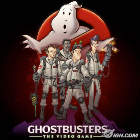 Ghostbusters - Wii concept art group shot