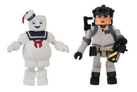 Stay Puft Marshmallow Man and Ray