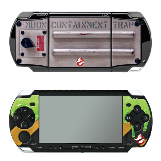 Ghostbusters skin for the PSP