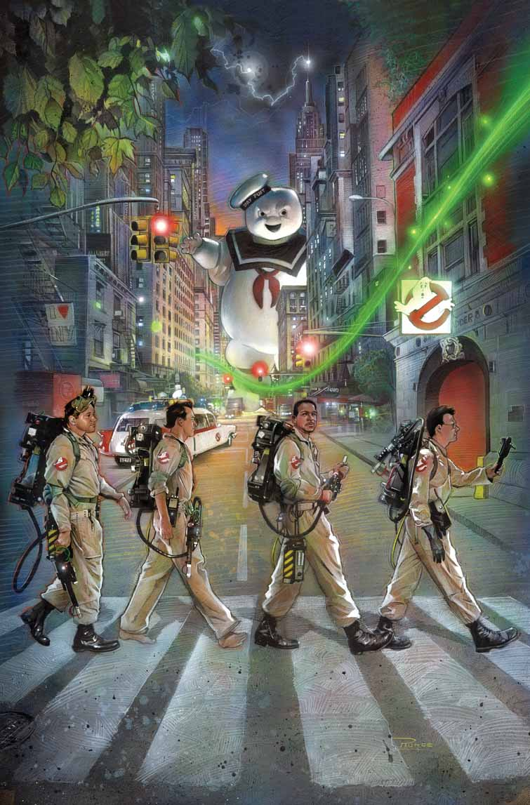 Critique rapide Ghostbusters t1 GBAbbeyRoad