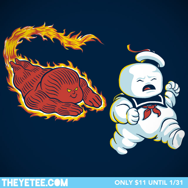 New Ghostbusters tee at The Yetee!