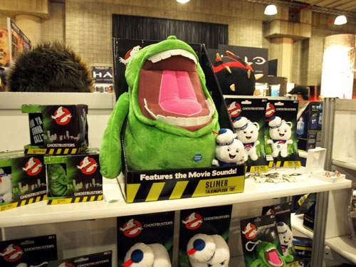 Underground Toys reveal three sizes of plush Slimer!