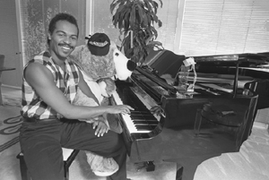 Ray Parker Jr at Home