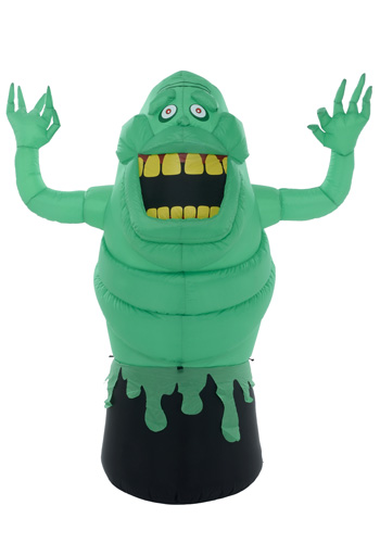 New details on Inflatable Lawn Slimer and floating party decoration!